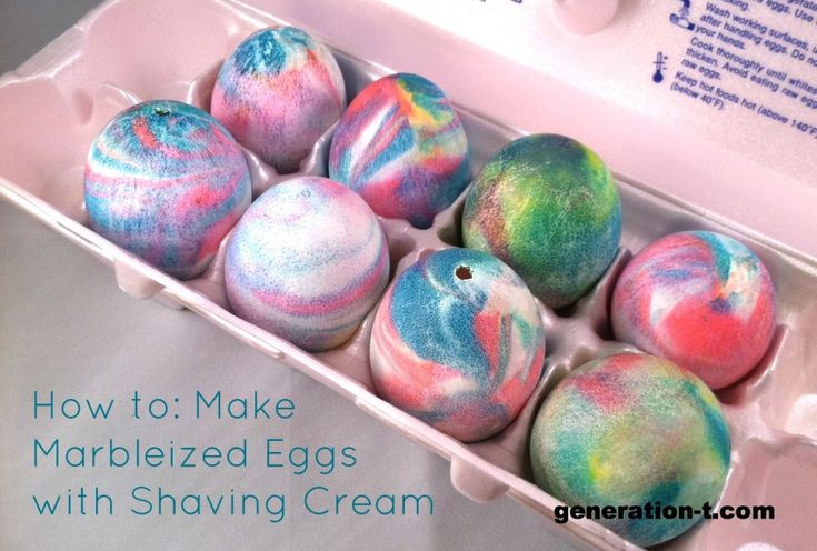 Coloring Eggs Using Shaving Cream Easter Fun Pinterest