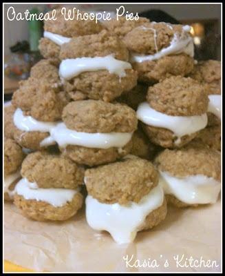 Oatmeal Whoopie Pies. | Kasia's Kitchen | Pinterest