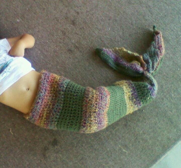 Crochet Mermaid Tail : Crochet mermaid tail Crochet Pinterest
