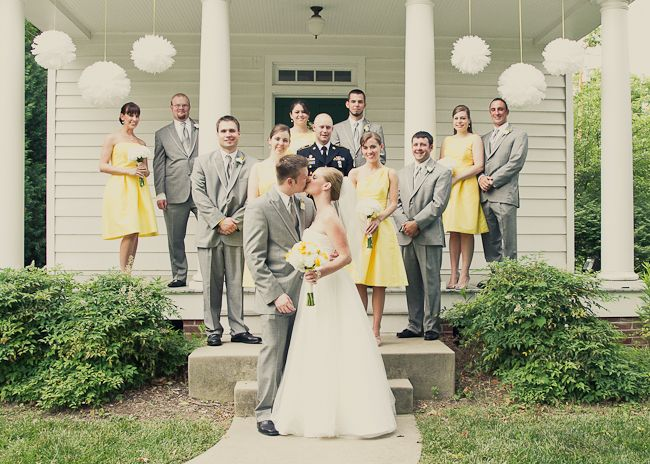 uneven bridal party - Google Search