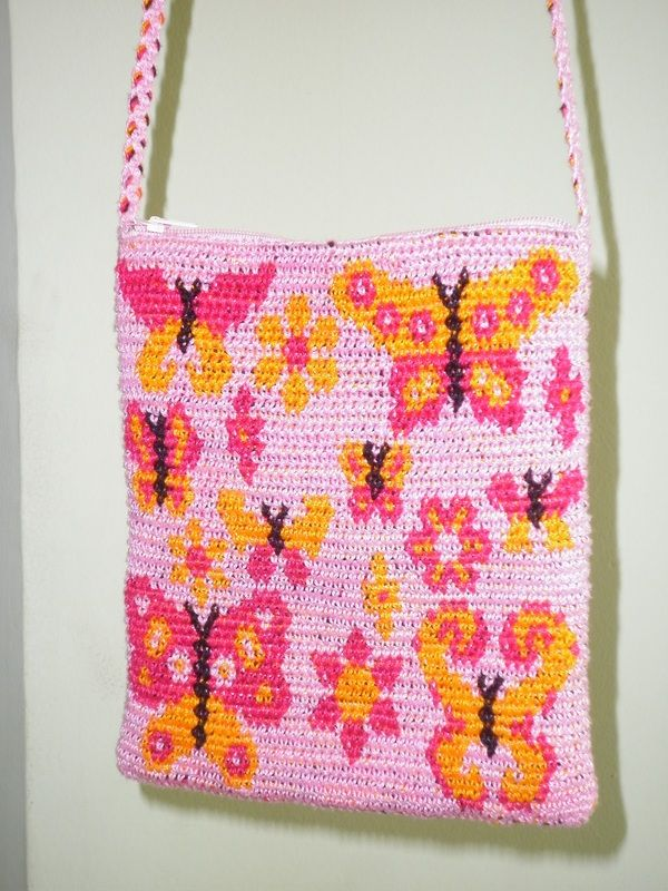 Tapestry Crochet Bag : Tapestry Crochet Bag Crafts Pinterest