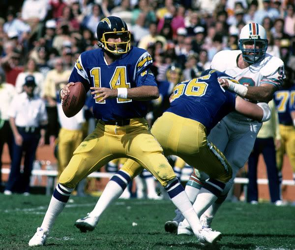 San Diego Chargers Dan Fouts: Dan Fouts, San Diego Chargers