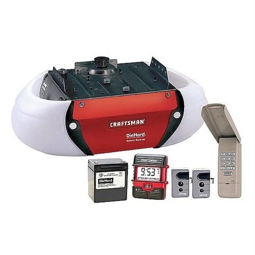 Craftsman 3 4 hp hps belt drive garage door opener 53918 for 1 3 horsepower garage door opener