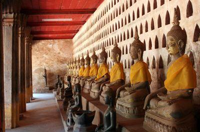 Sisaket là ngôi chùa quan trọng và lâu đời nhất tại thủ đô Viêng Chăn, Lào