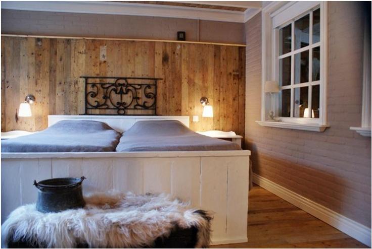 Landelijke slaapkamer  Bedden  Pinterest