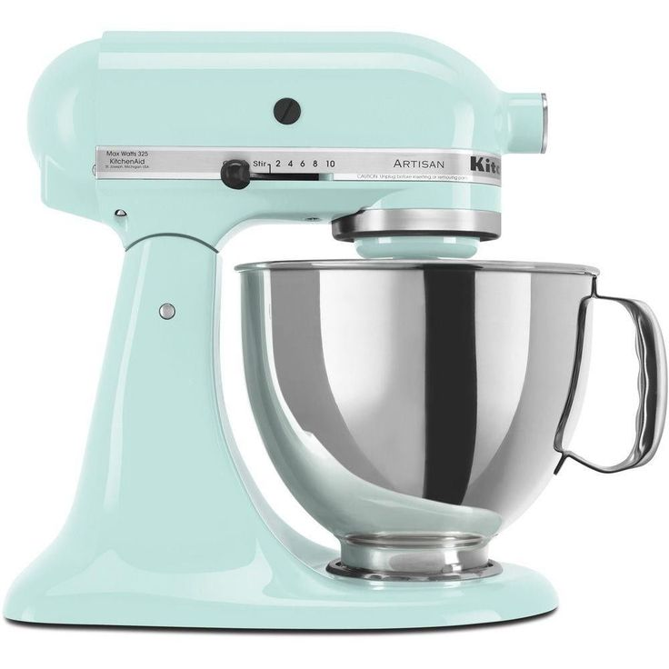 KitchenAid Artisan Series 5 Qt Stand Mixer In Ice Blue