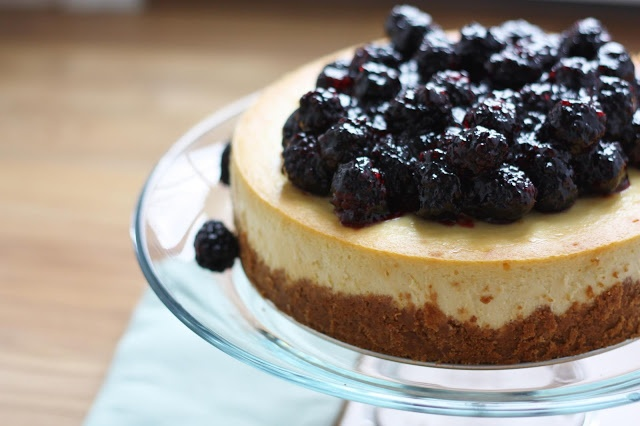 Blackberry Curd Cheesecake In A Jar Recipe — Dishmaps