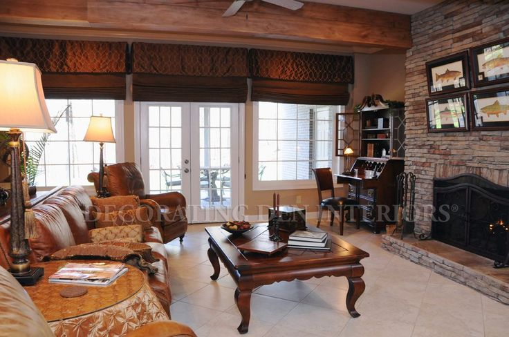 Pin by decorating den interiors on family rooms 2013 for Decorating den interiors