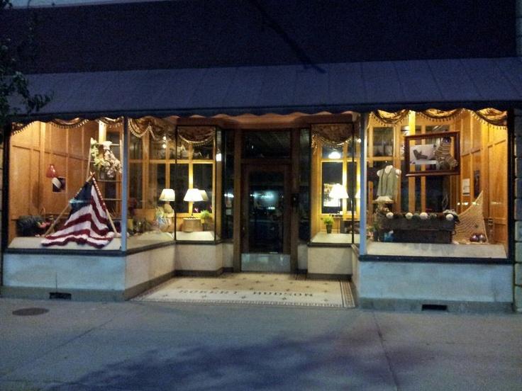 iYarn at night! My cousins Yarn shop in Winfield, KS