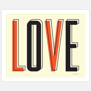 Love Poster 24 20x16 now featured on Fab.