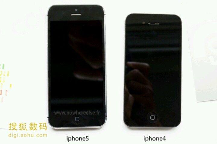 iPhone 5 vs  iPhone 4Iphone 1 Vs Iphone 2