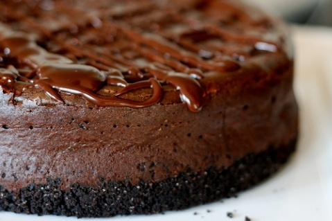 Deep Dark Chocolate Cheesecake | Favorite Recipes | Pinterest