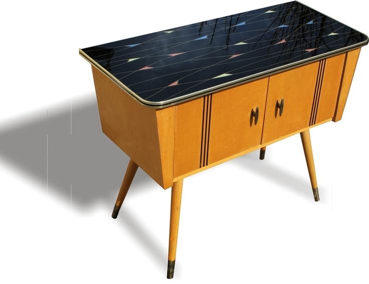 Sideboard Rockabilly Kommode 60er Nierentisch - von ...