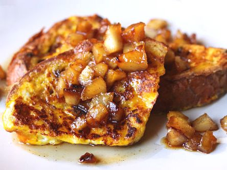 Panettone French Toast With Caramelized Aples | Tasty Kitchen: A Happy ...