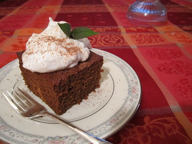 """Favorite Old Fashioned Gingerbread   """"The Irish Mother"""""""
