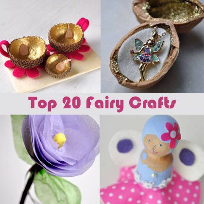 20 top fairy crafts for kids parties idea 39 s pinterest for Fairy crafts for toddlers