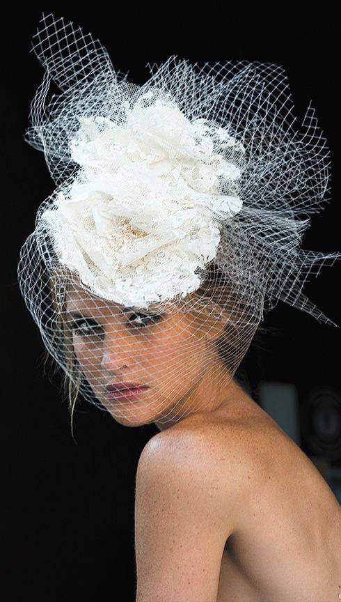 Шляпки для невест своими руками 78