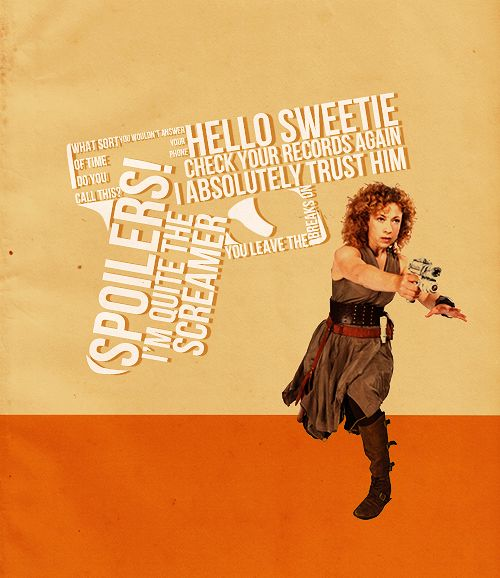 River Song- Catchphrases