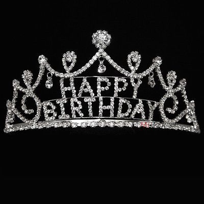 Happy Birthday Crown Happy birthday tiara crown