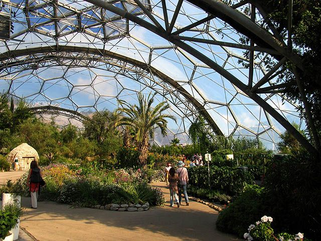 Eden project cornwall uk architecture oddities and for Indoor gardening wikipedia