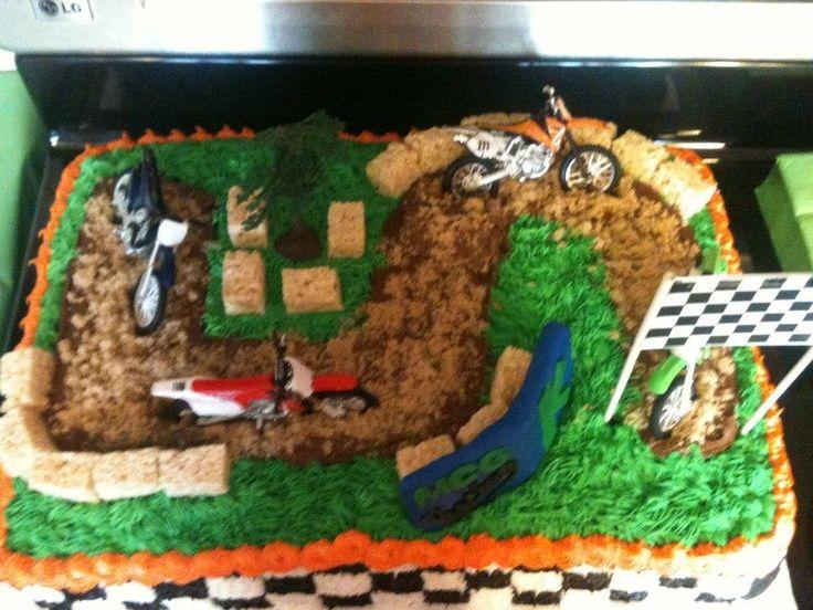 Dirt Bike Birthday Cake Pictures