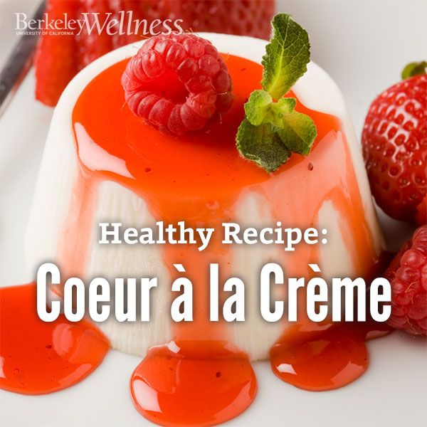 baker? Not a problem! Whip up this creamy, no-bake coeur a la creme ...