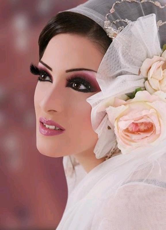 arabic wedding makeup muslim bride pinterest