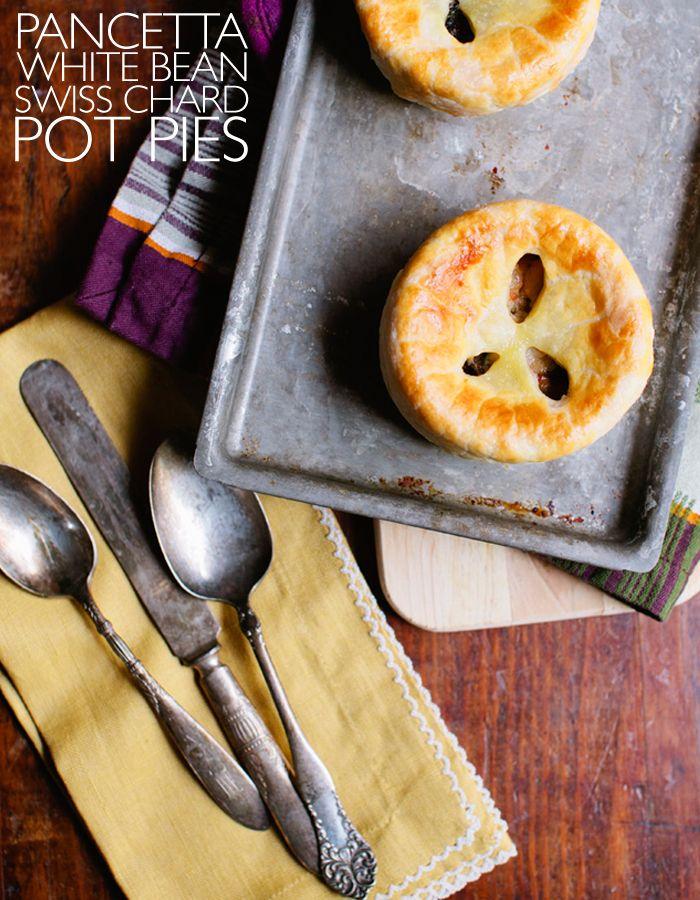 Deconstructed Kitchen: Pancetta, White Bean & Swiss Chard Pot Pies ...