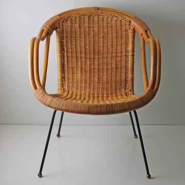 Modern Rattan Chair