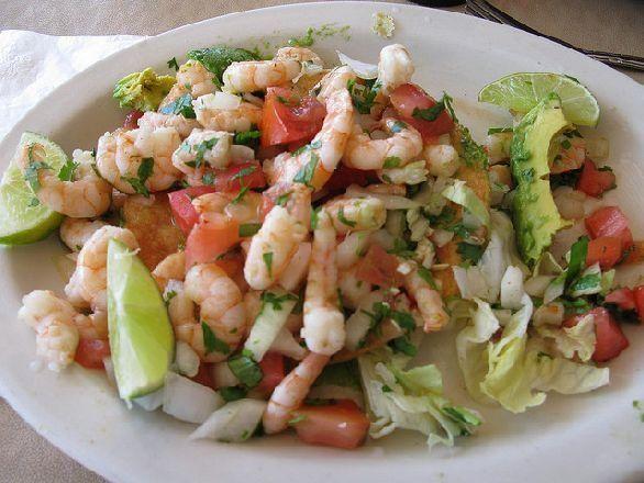 insalata di gamberetti e avocado | Ricette - Pesce | Pinterest