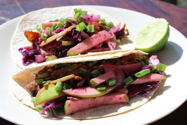 Beer Braised Chicken Tacos | The Doctor's Daughter
