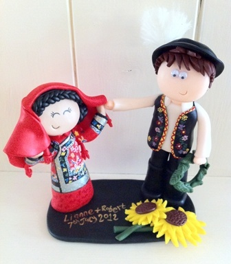 Pin By Googly Gifts Personalised Wedding Cake Toppers On Personalised