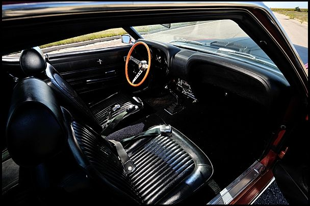 1969 Ford Mustang Gt Coupe Interior My Dream Garage