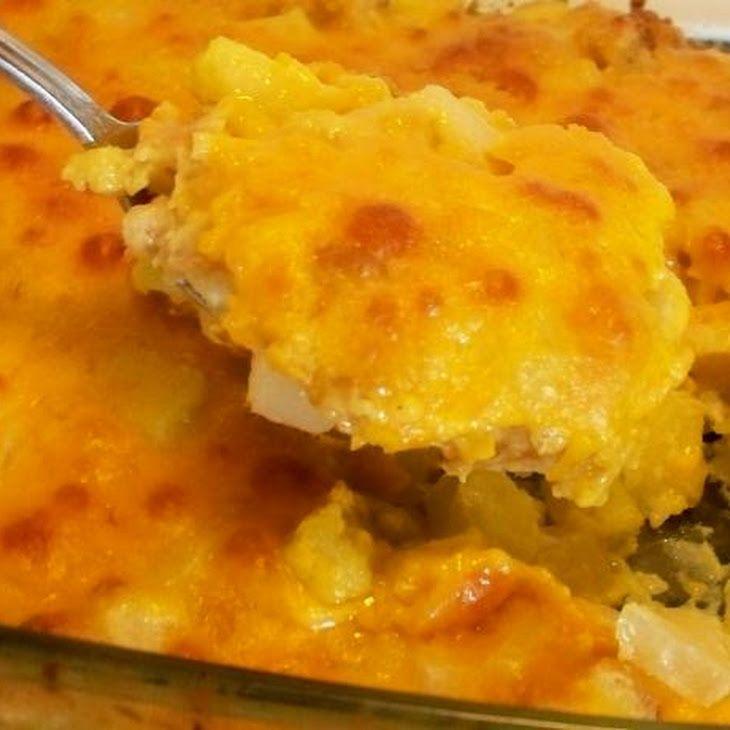 Cheesy Zucchini Casserole Recipe | Zucchini Summer Squash Recipies ...