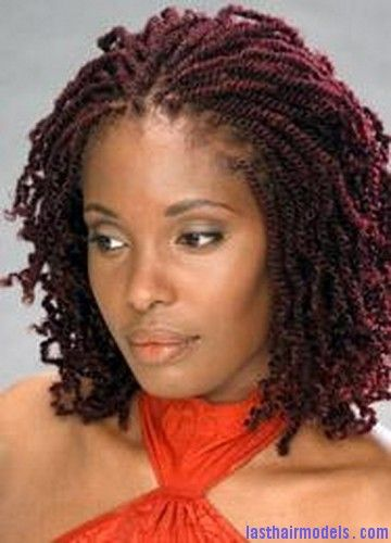 African American Hairstyles Twist Braids