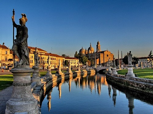Padua Italy  city photos : Padua, Italy. I have a beautiful picture of mom and Marisa sitting on ...
