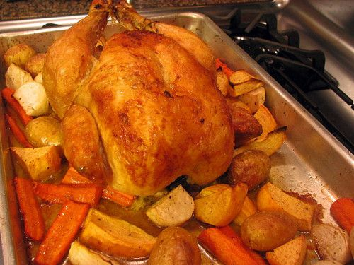 Classic Roast Chicken | recipes to try | Pinterest