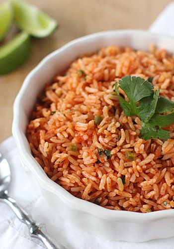 Mexican Red Rice - TRIED | Mexican/Spanish Food | Pinterest