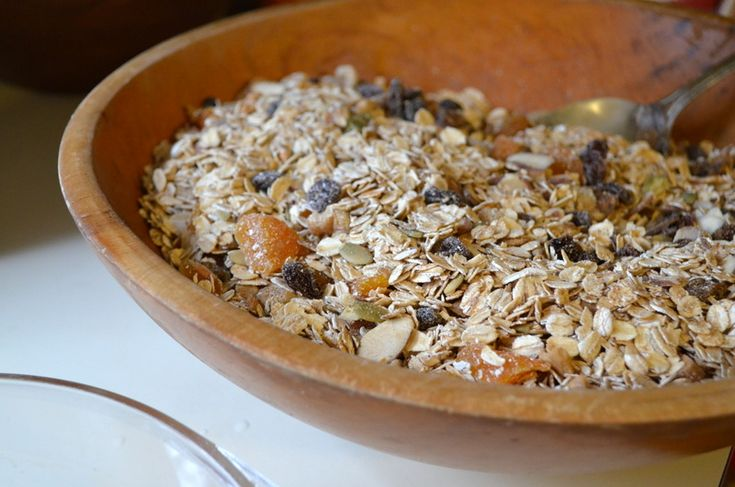 Homemade Granola with Fruit and Nuts | Snacks and Appetizers | Pinter ...