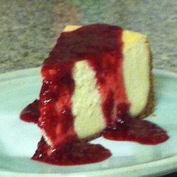 Chantal's New York Cheesecake Allrecipes.com Mirabella's Birthday cak...
