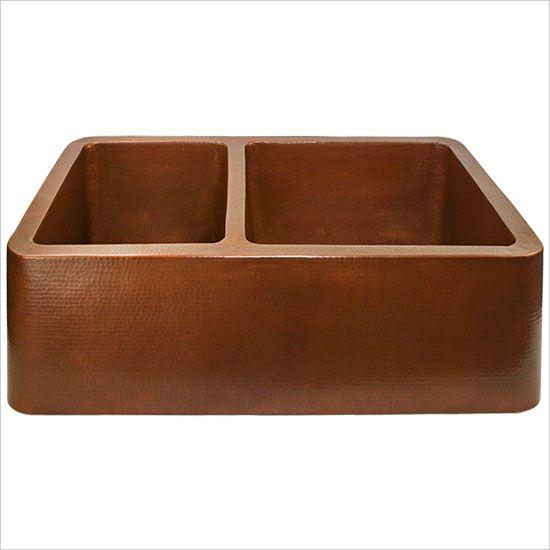Copper kitchen sink  Home Ideas  Pinterest