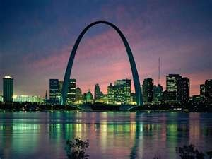 St. Louis Missouri Arch.....beautiful!