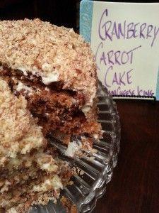 Cranberry Carrot Cake from Savannah's Azalea Inn