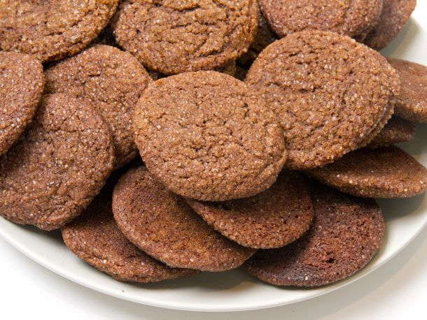 Chewy Ginger Cookies from Serious Eats