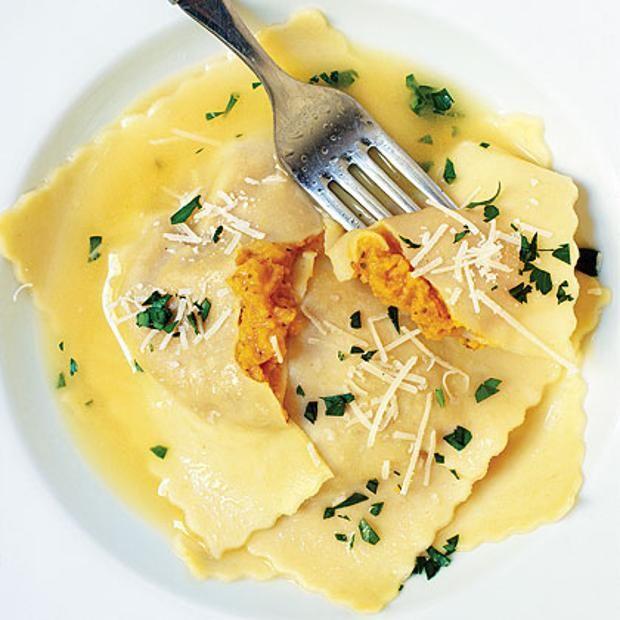 Giant Butternut Squash Ravioli | Yummy Stuff | Pinterest