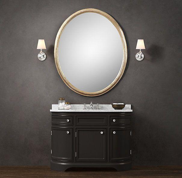 vanity sink od on restoration hardware to redo the master bath