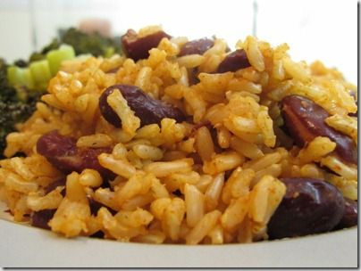 Vegetarian Red Beans and Rice | Recipes: In a Pot | Pinterest