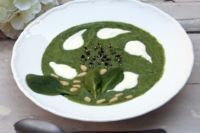 Spinach Cream Soup | Food & Recipe's | Pinterest