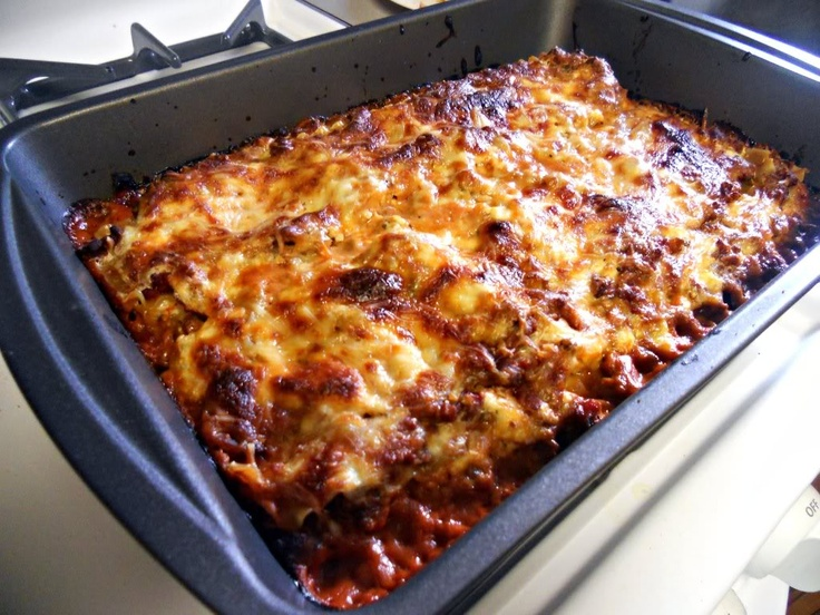 Super Easy Lasagna | Recipes for my Kitchen | Pinterest