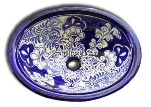 Frankie Black Sink : Mexican Talavera Sink Acapulco For the Home Pinterest